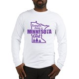 Minnesota Girl Long Sleeve T-Shirt