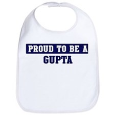 Proud to be Gupta Bib