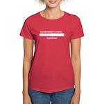 BLONDE MOMENT LOADING... Women's Dark T-Shirt