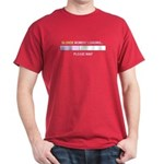BLONDE MOMENT LOADING... Dark T-Shirt