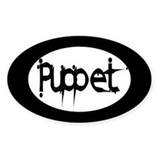 Puppet Oval Decal