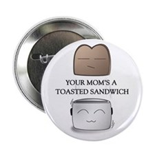 Your Mom Joke Cute Drawing Button
