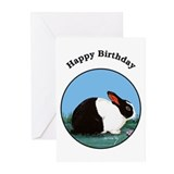 Dutch Bunny Birthday Cards (Pk of 10)