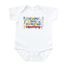Destiny's 5th Birthday Infant Bodysuit