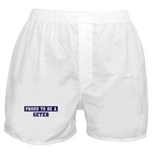 Proud to be Geter Boxer Shorts