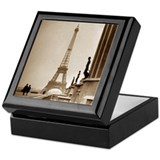 Paris Eiffel Tower Keepsake Box