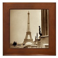 Paris Eiffel Tower Framed Tile