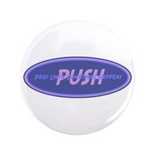 "Purple PUSH 3.5"" Button (100 pack)"