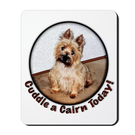 Cairn Cuddles Mousepad