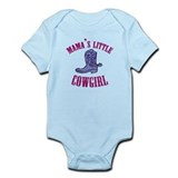 MAMA'S LITTLE COWGIRL Infant Bodysuit