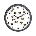 Chocolate Cookie Gift Wall Clock