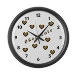 Chocolate Cookie Gift Large Wall Clock