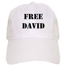 Free David Baseball Baseball Cap