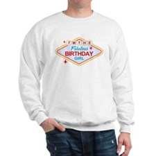 Las Vegas Birthday Girl Sweatshirt