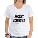 ROCKET SCIENTIST Women's V-Neck T-Shirt