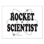 ROCKET SCIENTIST Small Poster