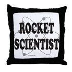 ROCKET SCIENTIST Throw Pillow
