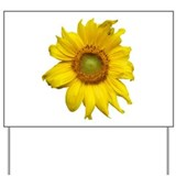 Sunflower Yard Sign