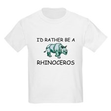 I'd Rather Be A Rhinoceros T-Shirt