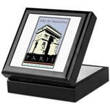Paris, Arc de Triomphe Keepsake Box