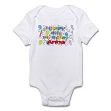 Anna's is four years old and Infant Bodysuit