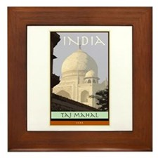 India Framed Tile