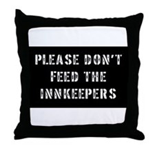 innkeepers Throw Pillow