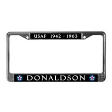 Donaldson AFB License Plate Frame