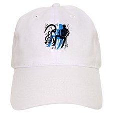 Accordion Player Baseball Cap