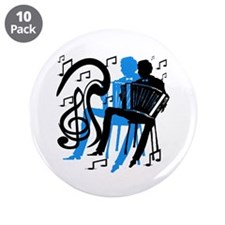 "Accordion Player 3.5"" Button (10 pack)"