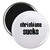 Christiana Sucks Magnet
