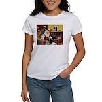 Santa's Bull Mastiff #4 Women's T-Shirt
