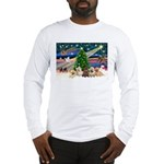 Xmas Magic & 5 Cairn Terriers Long Sleeve T-Shirt