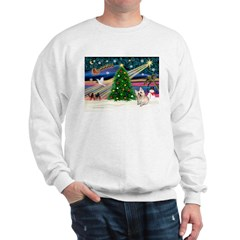 Xmas Magic & Cairn Terrier Sweatshirt