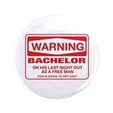 "Bachelorette Party 3.5"" Button"