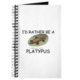 I'd Rather Be A Platypus Journal