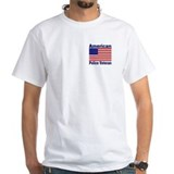 American Police Veterans Patriotic Flag Shirt