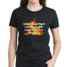I decided going to Hell Tee