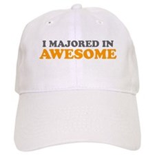 I Majored in Awesome Baseball Cap
