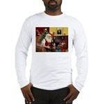 Santa's Dachshund (bt) Long Sleeve T-Shirt