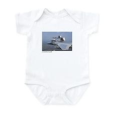 F-22 Raptor F-15 Eagle Infant Bodysuit