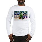 XmasMagic/2 Dachshund (BB) Long Sleeve T-Shirt