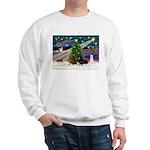 XmasMagic/2 Dachshund (BB) Sweatshirt