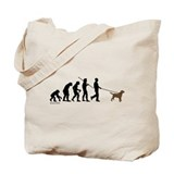 Chocolate Lab Evolution Tote Bag