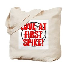 Love at First Spike Tote Bag