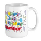 Hunter's 3rd Birthday Mug