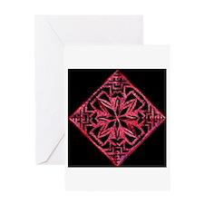 Blood Lotus Greeting Card