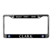 Clark Air Base License Plate Frame
