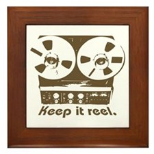 Keep It Reel Framed Tile