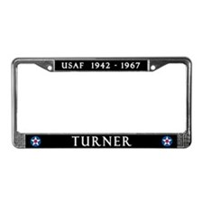 Turner AFB License Plate Frame